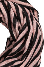 Striped tube scarf - Powder pink/Striped - Ladies | H&M 2