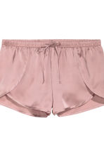 Shorts in satin, 2 pz - Rosa - DONNA | H&M IT 4