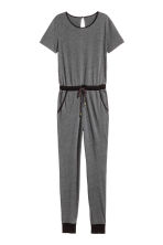 Jumpsuit - Dark grey - Ladies | H&M CN 2