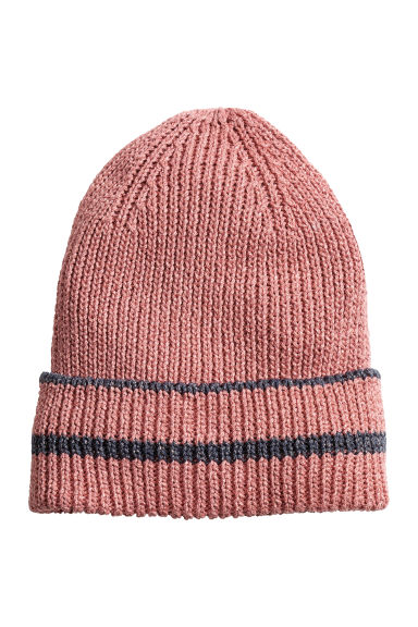 Glittery hat - Old rose - Ladies | H&M CA 1