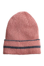Glittery hat - Old rose - Ladies | H&M CN 1