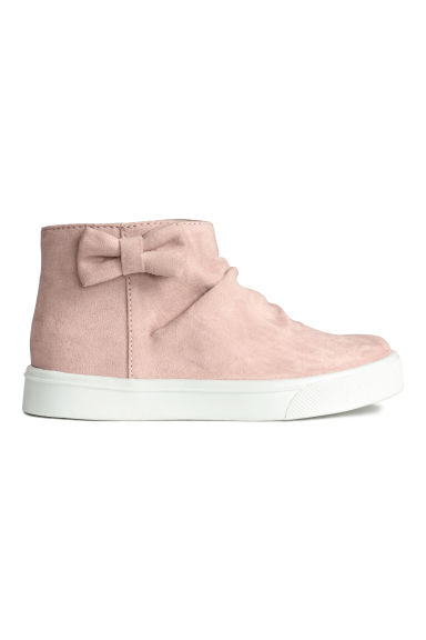 Trainers with a bow - Light pink - Kids | H&M 1