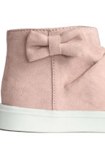 Trainers with a bow - Light pink - Kids | H&M 4