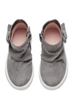 Trainers with a bow - Dark grey - Kids | H&M CN 2