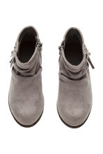 Ankle boots - Dark grey -  | H&M 3