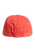 Cap with a motif - Red -  | H&M CA 2