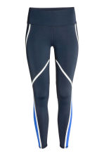 Sports tights - Dark blue - Ladies | H&M CN 2