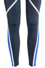 Sports tights - Dark blue - Ladies | H&M CN 4