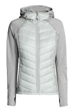Outdoor jacket - Light grey - Ladies | H&M CN 2