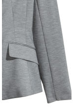 Single-button jersey jacket - Grey marl - Ladies | H&M 3