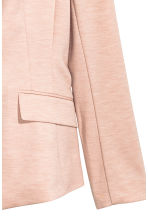 Single-button jersey jacket - Powder pink - Ladies | H&M 3