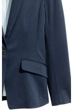 Single-button jersey jacket - Dark blue - Ladies | H&M 3