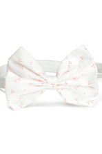 2-pack bow-detail hairbands - Neon pink -  | H&M 3