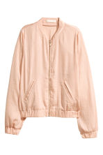 Satin bomber jacket - Powder - Ladies | H&M 2
