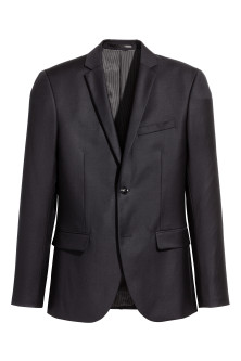 Blazer en laine Slim fit