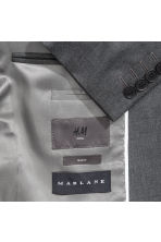 Wool jacket Slim fit - Dark grey - Men | H&M 3