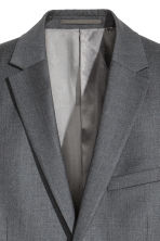Wool jacket Slim fit - Dark grey - Men | H&M 4