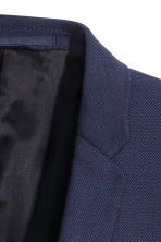 Wool jacket Skinny fit - Navy blue - Men | H&M 3