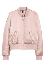 Padded bomber jacket - Powder pink - Ladies | H&M 2