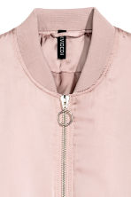 Padded bomber jacket - Powder pink - Ladies | H&M 3