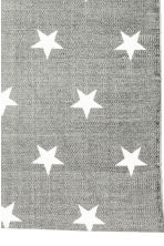 Star-print cotton rug - Grey - Home All | H&M CN 2