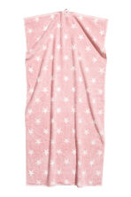 Star-patterned bath towel - Light pink - Home All | H&M CN 1