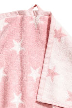 Star-patterned bath towel - Light pink - Home All | H&M CN 3