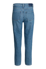 Straight High Jeans - Denim blue -  | H&M GB 3
