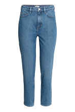 Straight High Jeans - Denim blue -  | H&M CN 2