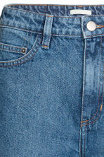 Straight High Jeans - Denim blue -  | H&M CN 4
