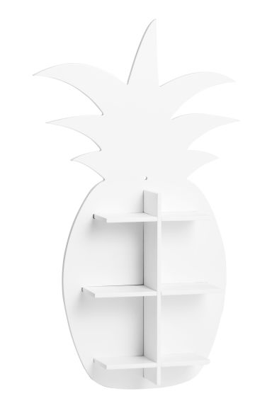 Pineapple-shaped shelf - White - Home All | H&M CN 1