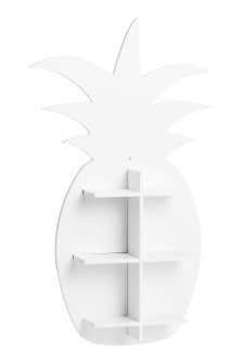 Pineapple-shaped shelf