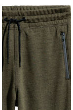 Joggers - Dark khaki green - Men | H&M 3