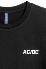 Printed T-shirt - Black/AC/DC - Men | H&M 4
