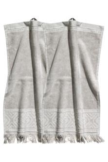 2 pack guest towels. Guest Towels   H M GB