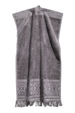 2-pack guest towels - Dark grey - Home All | H&M CN 2