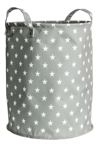 Storage basket - Grey/Stars - Home All | H&M CN 1