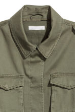 Cargo jacket - Khaki green - Ladies | H&M CA 2