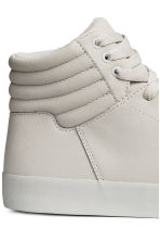 Hi-top trainers - Light grey - Men | H&M 4