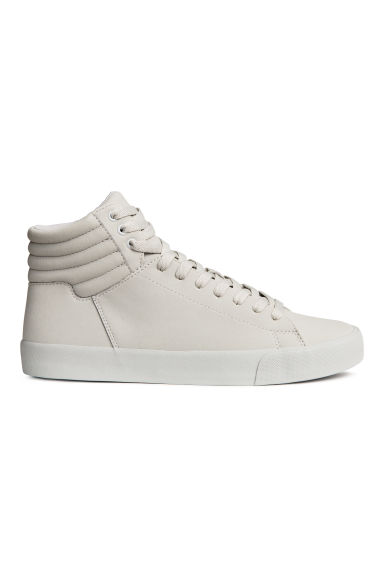 Hi-top trainers - Light grey - Men | H&M 1