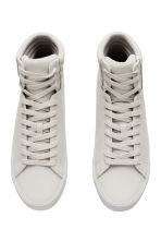 Hi-top trainers - Light grey - Men | H&M 2