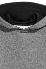 Hooded top - Dark grey marl - Kids | H&M CN 4