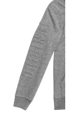 Hooded top - Dark grey marl - Kids | H&M CN 3