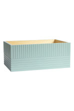 Large wooden box - Dusky green - Home All | H&M CN 2