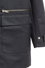 Hooded jacket - Black - Men | H&M 3