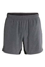 Knee-length running shorts - Dark grey - Men | H&M CN 2