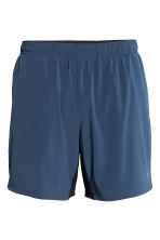 Shorts da running al ginocchio - Blu scuro -  | H&M IT 2