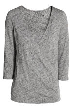 MAMA Nursing top - Dark grey marl - Ladies | H&M 2