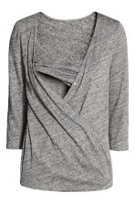 MAMA Nursing top - Dark grey marl - Ladies | H&M 3