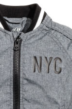 Bomber jacket - Dark grey/New York - Kids | H&M CN 3